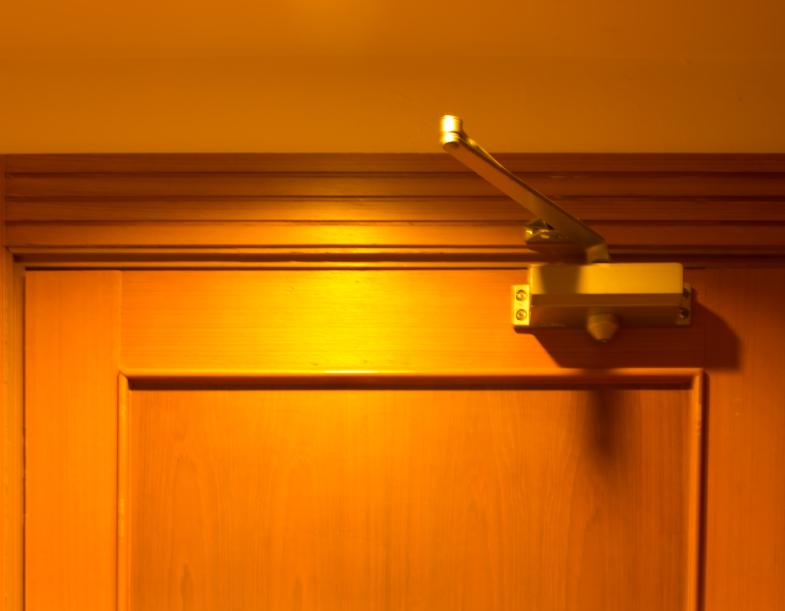 Door closer In the bedroom