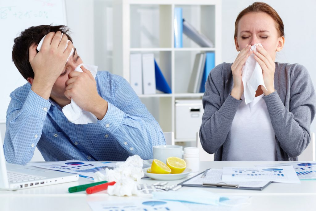 Sickness-in-an-Office-iStock_000051123866_Double