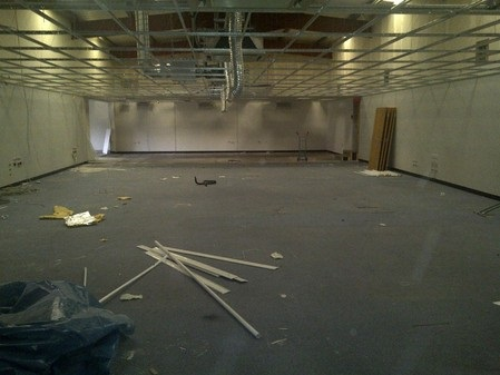 Office strip out refurb