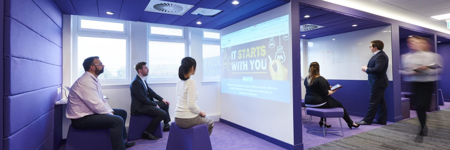 collaborative spaces for small meetings