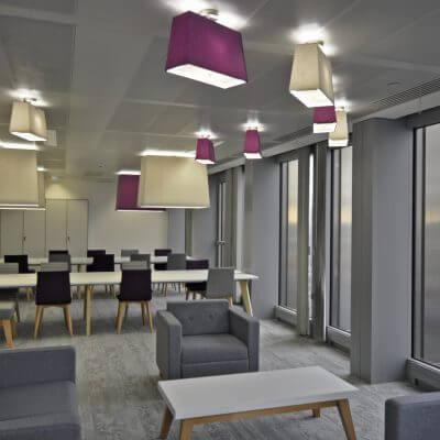 office design breakout area