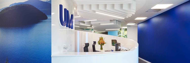 office design for reception area