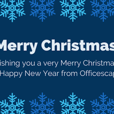 Merry Christmas from Officescape